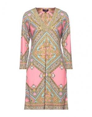 Короткое платье HALE BOB. Цвет: розовый