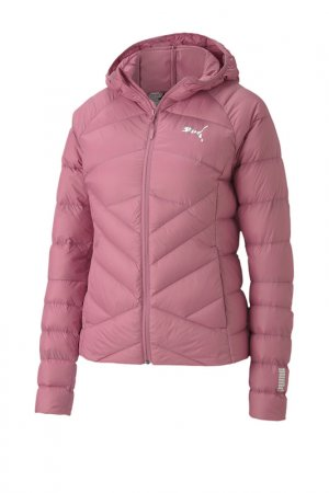 Пуховик PWRWarm packLITE 600HD Puma. Цвет: розовый