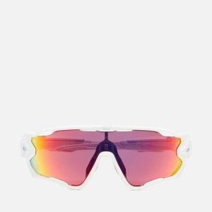 Солнцезащитные очки Jawbreaker Oakley. Цвет: белый