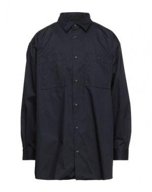 Pубашка ACNE STUDIOS. Цвет: темно-синий
