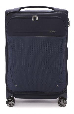 Дорожный чемодан B-Lite Icon large Samsonite. Цвет: синий
