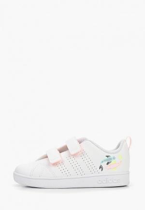 Кроссовки adidas VS ADVANTAGE CLEAN. Цвет: белый
