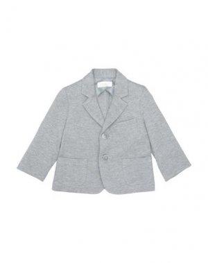 Пиджак BIMBALÒ. Цвет: серый