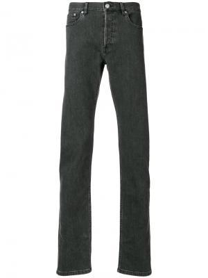 Прямые джинсы A.P.C.. Цвет: серый