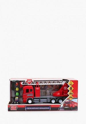 Игрушка интерактивная Технопарк Пожарная машина. Цвет: разноцветный