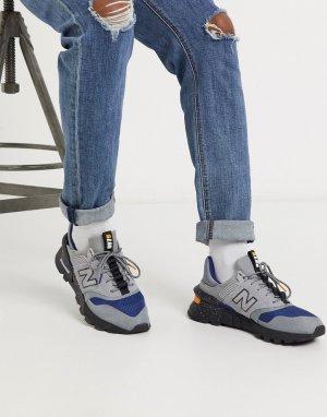 Серые кроссовки 997S Cordura-Серый New Balance