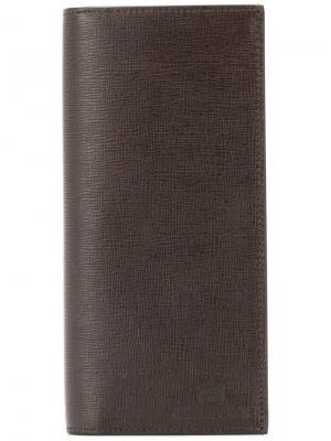 Churchs длинный кошелек с откидным клапаном Church's. Цвет: коричневый