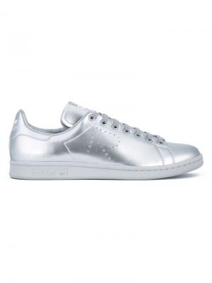 Кеды Stan Smith adidas by Raf Simons. Цвет: золотистый