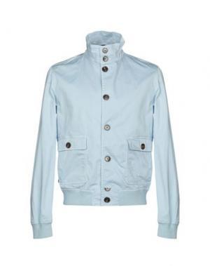 Куртка HENRI LLOYD. Цвет: небесно-голубой