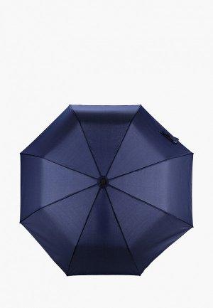Зонт складной Lamoda. Цвет: синий