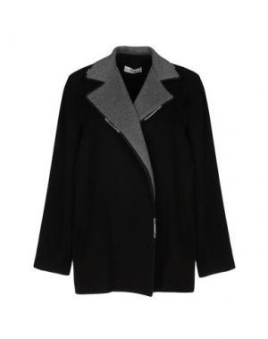 Пальто ELLA LUNA. Цвет: черный