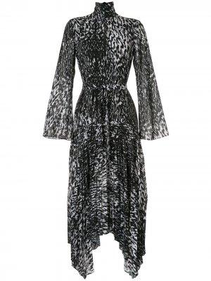 Плиссированное платье миди Dali CAMILLA AND MARC. Цвет: черный