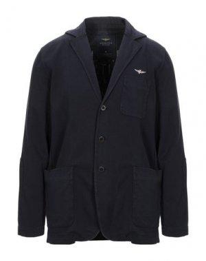 Пиджак AERONAUTICA MILITARE. Цвет: темно-синий