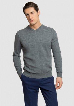 Пуловер Kanzler. Цвет: серый