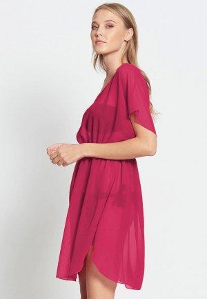 Платье пляжное Donatello Viorano Бомбей. Цвет: розовый