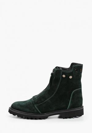 Ботинки Calipso. Цвет: зеленый