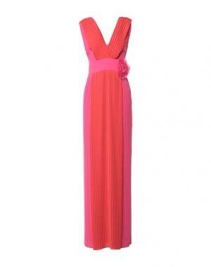 Длинное платье HANITA. Цвет: красный