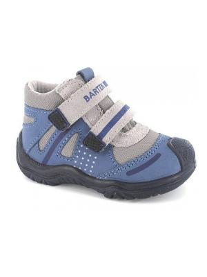 Ботинки Bartek. Цвет: синий, серый
