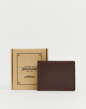 Темно-коричневый бумажник Coeburn Dickies. Цвет: коричневый