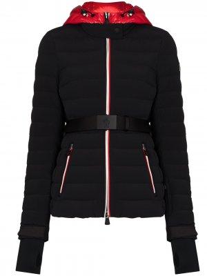 Лыжная куртка-пуховки Bruche Moncler Grenoble. Цвет: черный
