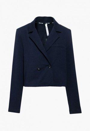 Пиджак Nota Bene. Цвет: синий