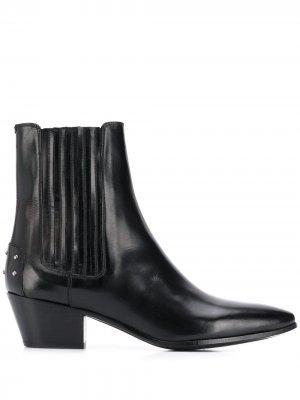 Ботинки челси West Saint Laurent. Цвет: черный
