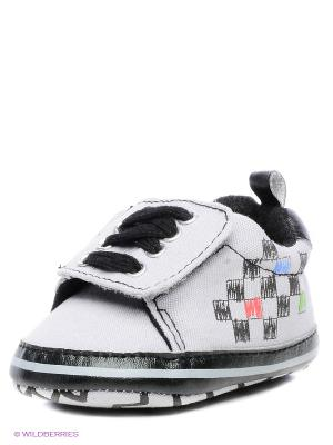 Ботиночки Luvable Friends. Цвет: серый