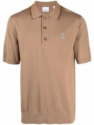 Рубашка поло с монограммой TB Burberry. Цвет: нейтральные цвета