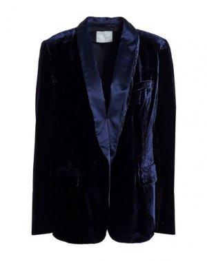 Пиджак JOIE. Цвет: темно-синий