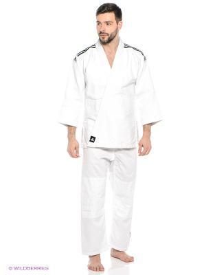 Кимоно для дзюдо Club Adidas. Цвет: белый