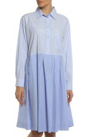 Платье Liviana Conti. Цвет: голубой