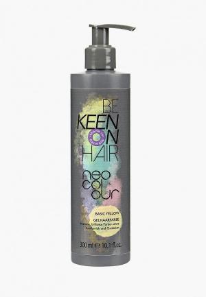 Тонирующее средство для волос Keen NEO COLOUR YELLOW (Желтый) 300 мл. Цвет: прозрачный