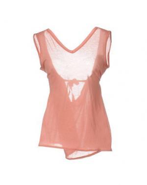 Майка MARNI. Цвет: лососево-розовый