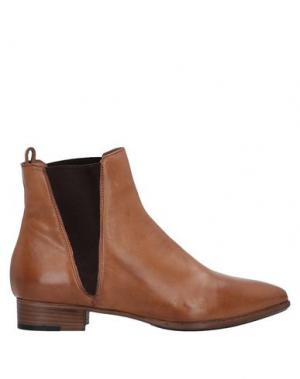 Полусапоги и высокие ботинки ALBERTO FERMANI. Цвет: верблюжий