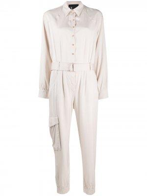 Belted boiler suit 8pm. Цвет: нейтральные цвета