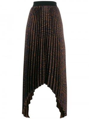 Плиссированная юбка асимметричного кроя By Malene Birger