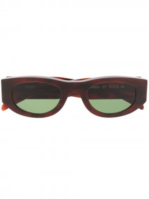 Солнцезащитные очки Master Mindy Thierry Lasry. Цвет: коричневый