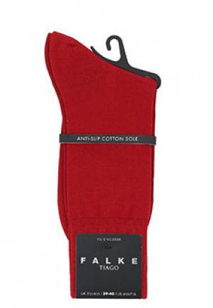 Носки FALKE. Цвет: красный