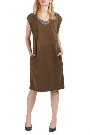 Платье Apanage. Цвет: tabak