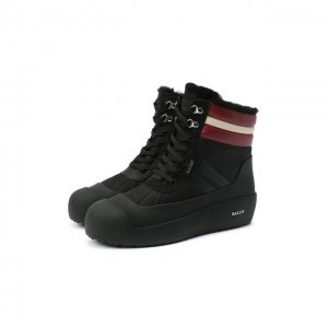 Кожаные ботинки Curton Bally. Цвет: чёрный