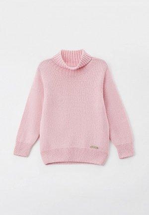 Свитер Norveg Cashmere&Merino blend. Цвет: розовый