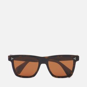 Солнцезащитные очки Casian Oliver Peoples. Цвет: коричневый