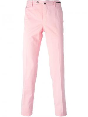 Классические брюки-чинос Pt05. Цвет: розовый и фиолетовый