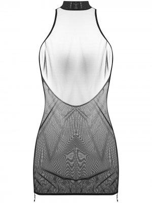 Платье мини Merida Bordelle. Цвет: черный