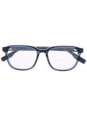 Очки MQ0305O в квадратной оправе MCQ. Цвет: синий