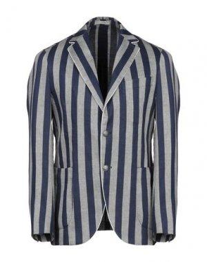 Пиджак 0909 FATTO IN ITALIA. Цвет: синий