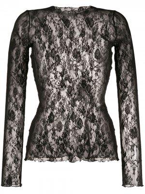Пуловер Katharina с кружевом Wolford. Цвет: черный