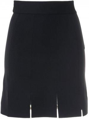 Юбка-шорты прямого кроя Gloria Coelho. Цвет: черный
