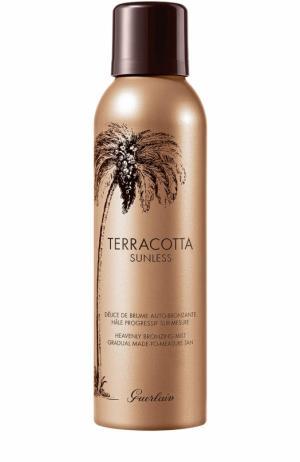 Спрей-автобронзант для тела Terracotta Sunless Guerlain. Цвет: бесцветный