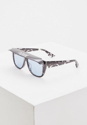 Очки солнцезащитные Christian Dior DIORCLUB2 9WZ. Цвет: черный